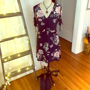 NWOT Floral mini dress from Macy's
